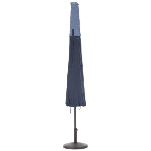 Classic Accessories 55-295-015501-00 Belltown Outdoor Patio Umbrella Cover Blue