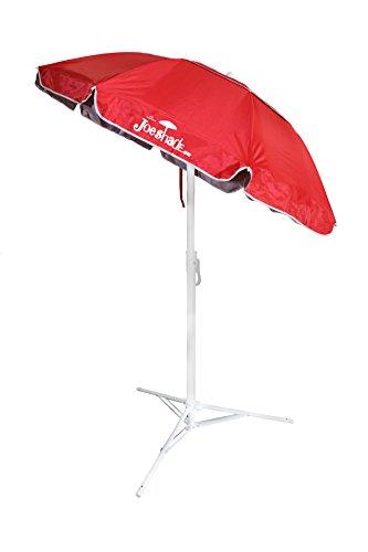 Joeshade Portable Sun Shade Umbrella Sunshade Umbrella Sports Umbrella Red