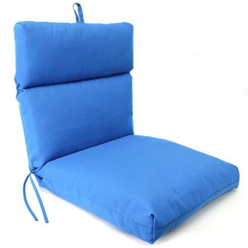 French Edge Chair Cushion Pacific Blue