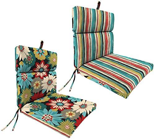 Jordan Manufacturing French Edge Universal Chair Cushion 44 X 22 X 4 Sigmundorlato Fiesta