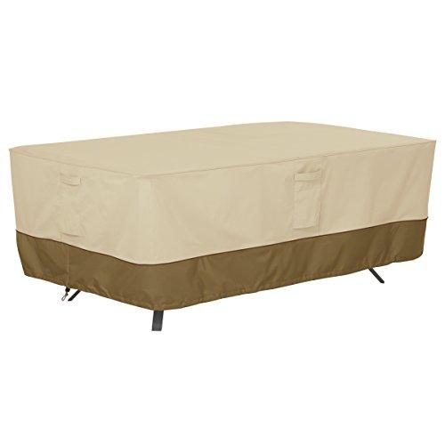 Classic Accessories 55-565-011501-00 Veranda Rectangularoval Patio Table Cover Large
