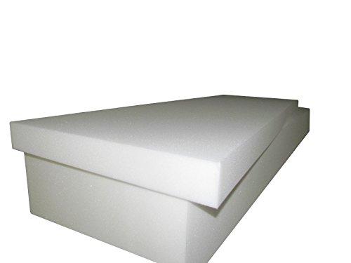 Seat Cushion Replacement Foam 4T x 24W x 80L 1546 Firm Upholstery Sheet Foam Sofa Foam Cushion Foam Padding