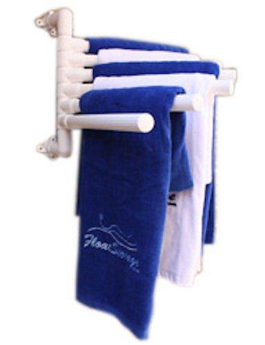 The Original Hanging Towel Rack - White