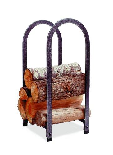 Enclume Vertical Arch Log Rack Hammered Steel