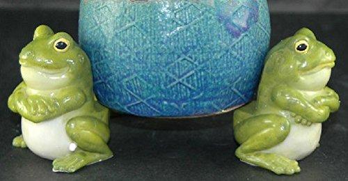 Encore Frog Flower Pot Holders Set of 3