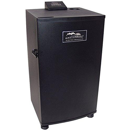 Masterbuilt 20070910 30-Inch Black Electric Digital Smoker Top Controller