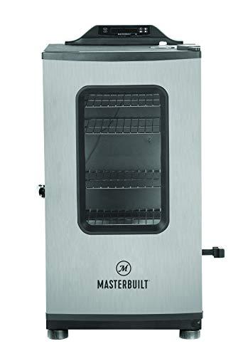 Masterbuilt MB20073919 Electric Smoker BlackStainless Steel