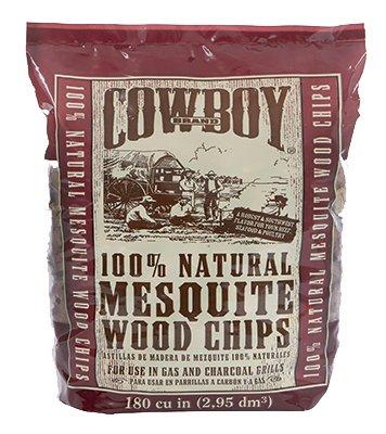 Cowboy Natural Mesquite Wood Chips 25 Lb