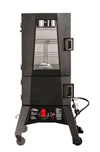 Masterbuilt RA49214 20050716 Propane Smoker 30 Inch Thermotemp Black
