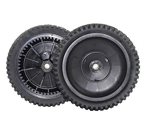Antanker Replacement Craftsman 180767 Front Drive Wheel for AYPSearsCraftsmanJonesredPoulon 532180767 Mower Wheel 2 Pack