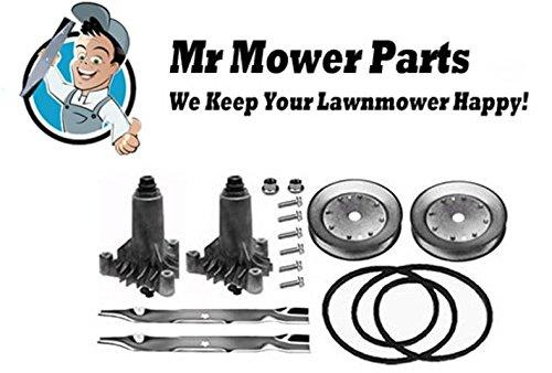 Mr Mower Part Ayp 42&quot Deck Rebuild Kit For Sears Craftsman Lawn Mowers Short Belt