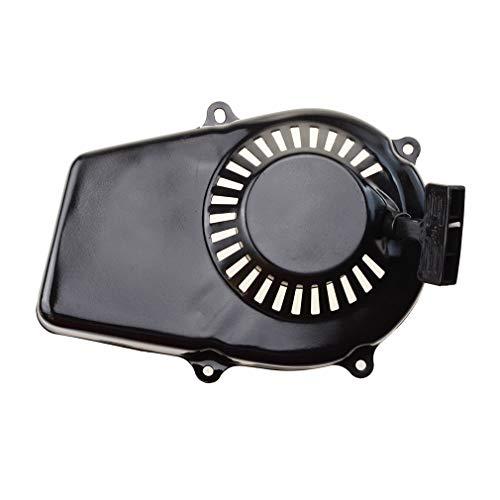 GOOFIT 2-stroke Pull Start Starter Black Recoil Starter Assembly for Yamaha ET650 ET950 Replacement Lawn Mower Motor Engine Generator