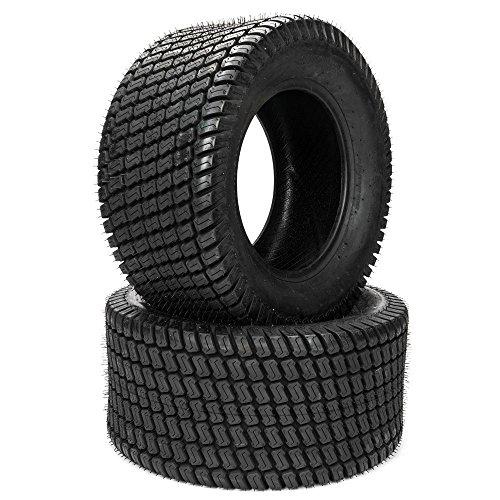 MOTOOS 2pcs Lawn Mower Turf Tires 23x1050-12 23x1050x12 Golf Cart Garden Tubeless Tires P332 4PR