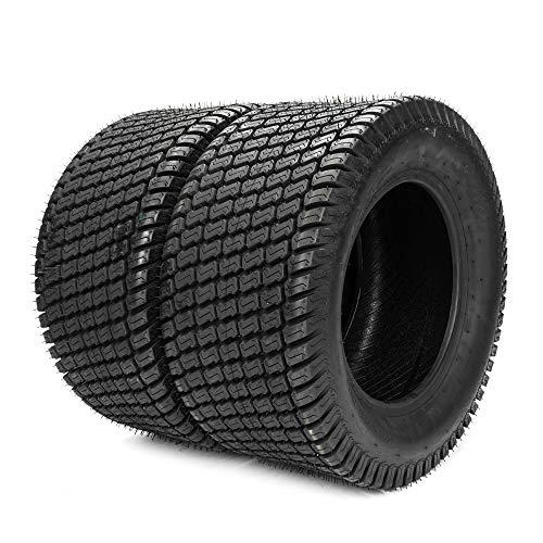 TRIBLE SIX 2 pcs 23x105-12 Turf Tires for Lawn Mower Golf Cart Garden Tire 4PR 23 105 12 Tubeless Tires