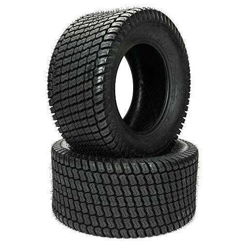 MOTOOS 2PCS Garden Tractor Lawn mower Turf Tires 16x650-8 16x650x8 4PR Tubeless