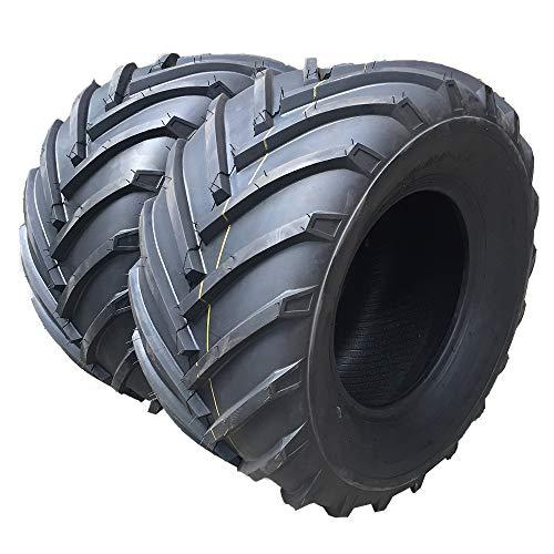 Set of 2 Tubeless 20x1000-8 4PR P328 Load Range B Turf Tires for Lawn Garden Mower 20-10-8 Turf Bias LRB For Garden Lawn Mower Tractor Golf Cart Tires 2010-8