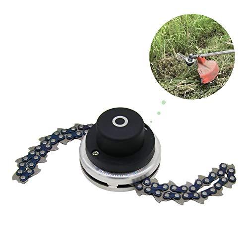 CZS 65Mn Trimmer Head Coil Garden Lawn Mower Brush Cutter Accessory Chain Grass Mower Head Replacement Outdoor Power Tools Universal