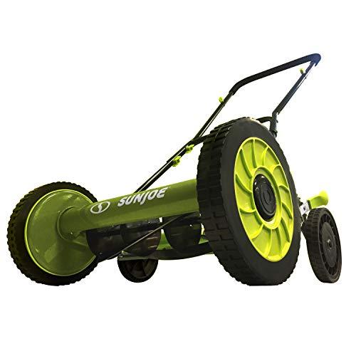 Sun Joe MJ504M-RM Manual Reel Mower without Grass Catcher  16 inch  9 Height Positions Renewed