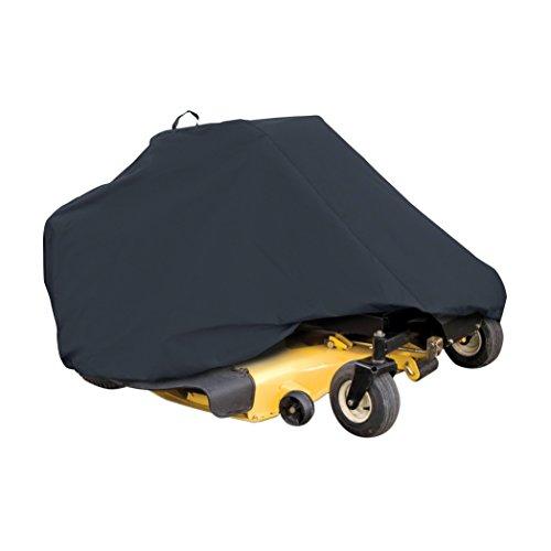 Classic Accessories 52-150-040401-00 Zero Turn Riding Mower Cover Black Up to 60 Decks