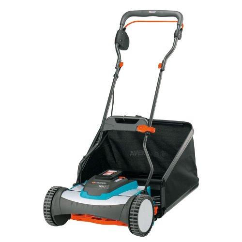 Gardena 4025-u 15-inch 25-volt 32 Amp Lithium-ion Cordless Push Reel Lawn Mower