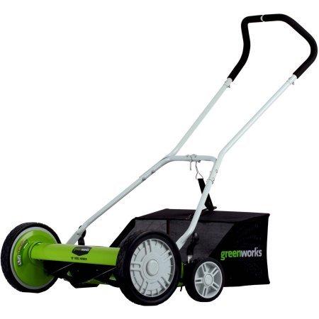 Greenworks 5-Blade 20 Reel Mower 20 Cutting Path