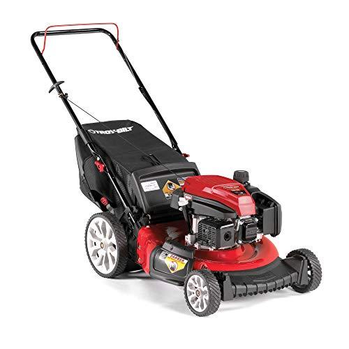 Troy Bilt TB130 21 Inch 159cc Gas Mulching Push Walk Behind Lawn Mower Red