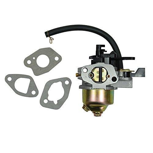 Highfine Replacement Carburetor with Carb Gasket Kit for Honda HR194 HR214 HRA214 HR215 HR216 GXV140 GXV160 Lawnmower Motor Engine Replace 16100-ZE6-W01 16100-ZE6-055