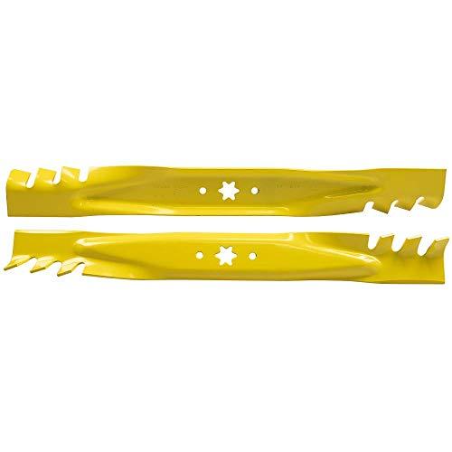 Lawn Mower Parts Genuine Troy Bilt MTD OEM 42 2 Blade Set 942-04308-X Gator Design Mulch