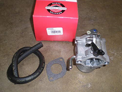 Lawn Mower Parts OEM Original Part Briggs Stratton Carburetor 593432 794653
