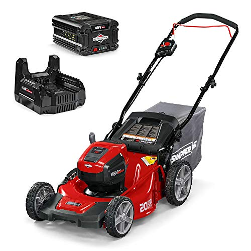 Snapper HD 48V MAX Electric Cordless Lawnmower Kit with 50 Battery and Charger 1687966 20WM48K