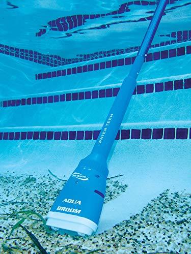 GG Aqua Broom Handheld Battery Operated Spa Pool Vacuum Water Tech Pool Blaster