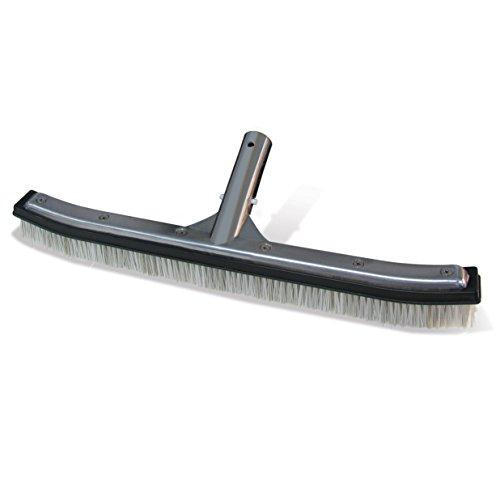 Poolmaster 20173 18&quot Aluminum-back Combo Bristle Brush - Premier Collection