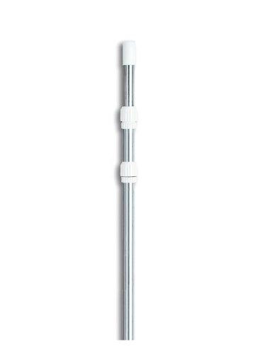 15 Adjustable Silver Swimming Pool Telescopic Pole