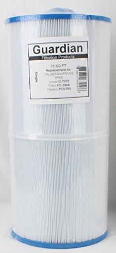 Guardian Pool Spa Filter Replaces Caldera Spa 75 C-7375 FC-3964 Pcn75N Made In The C7375 Watkins Hot Spot Spa