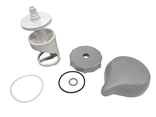 American Spa Parts Diverter Valve 4 Kit Sundance 01-3 Teardrop Knob Cap O-RingsStem Hot Tub