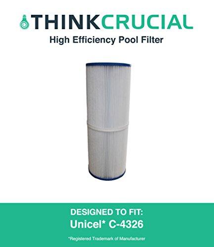 Pool Filter Replaces Unicel C-4326 Pleatco Prb25-in Filbur Fc-2375amp Rainbow Dynamic 25 Designedamp Engineered