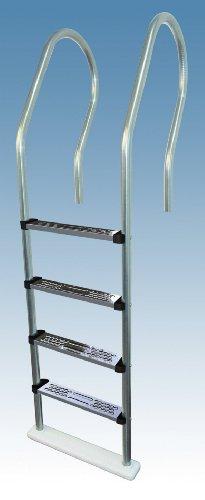Hi Rails Above Ground Stainless Steel Pool Ladder