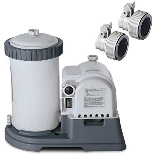 Intex 2500 GPH Swimming Pool Filter Pump  Replacement Hose Adapter B Pair