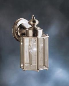 Kichler Lighting 9618ss Street Outdoor Sconce Stainless Steel