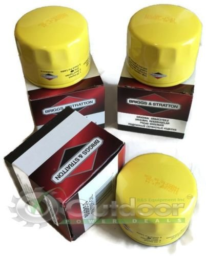 3 Pack Briggs Stratton Oil Filter PRO Series 696854 695396 492932 492932S