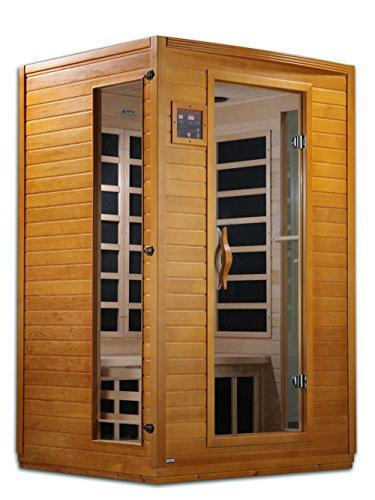 DYNAMIC SAUNAS AMZ-DYN-6202-03 Andora 2-Person Far Infrared Sauna