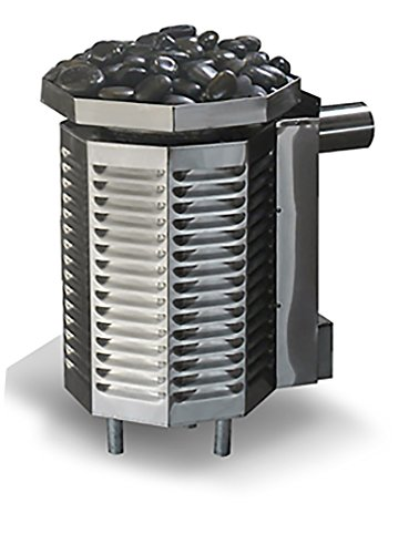 Scandia 240 Ultra Sauna Gas Heater 40000 BTU Maximum 616 Cubic feet Natural Gas - Piezo Ignition Heater for Sauna Room Made in USA