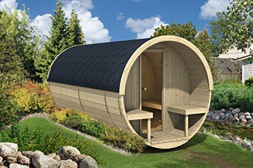 Allwood Barrel Sauna 400-ehp  Electric Heater