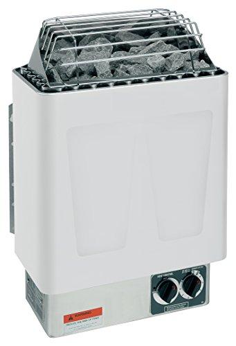 Harvia Kip 45kw 240v-1ph Electric Sauna Heater With Built In Controls includes Sauna Stones