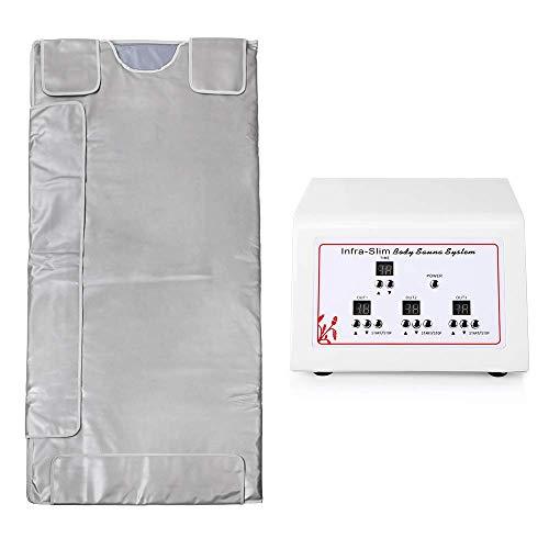 Ariana Spa Supplies  3 Zone Digital Far-Infrared FIR Heat Sauna Blanket
