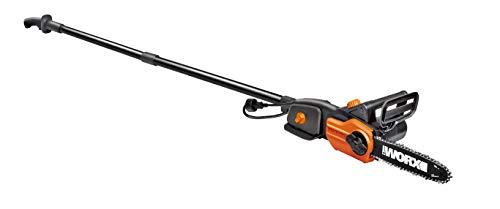 WORX WG310 8 8A Electric Power Pole Saw Black and Orange