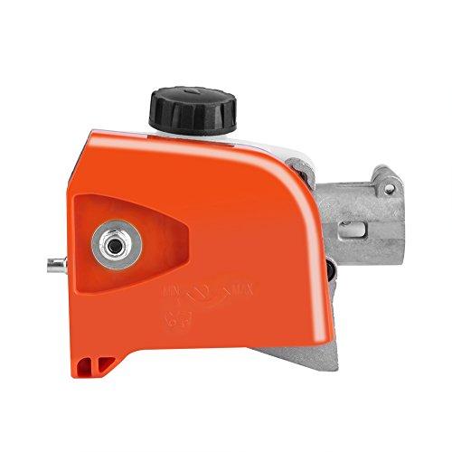 Zerodis Chainsaw Gearbox Head 26mm 9 Spline Gears Assembly for Pole Saw Pruner Brush Cutter Hedge Trimmer Tree Cutter9 Spline