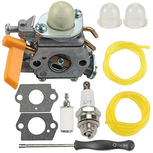 Powtol Mckin 308054043 Carburetor fits Ryobi RY28000 RY28020 CS26 RY28040 SS26 RY09053 RY28021 RY28025 RY28045 RY09056 RY09055 26CC Trimmer Brushcutter