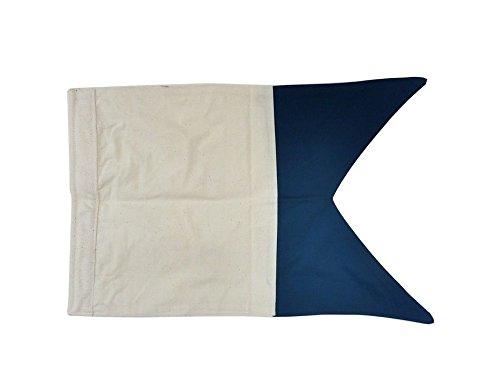 Letter A 20 Cloth Nautical Alphabet Flag - Nautical flag decorative cloth flag nautical accessories nautical theme décor nautical wall hanging nautical sign