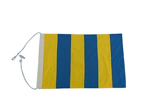 Letter G 20 Cloth Nautical Alphabet Flag - Nautical flag decorative cloth flag nautical accessories nautical theme décor nautical wall hanging nautical sign